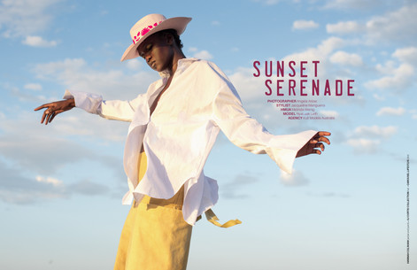 FEN HONG SE MAGAZINE EDITORIAL - Sunset