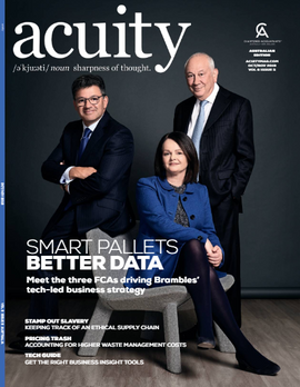 Acuity Magazine Oct Cover issue