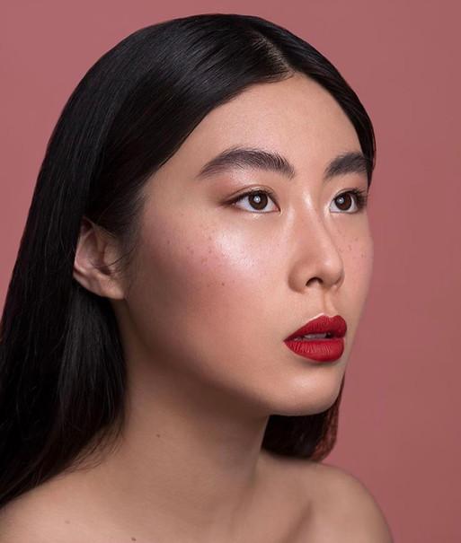 Bold Red Lip Makeup