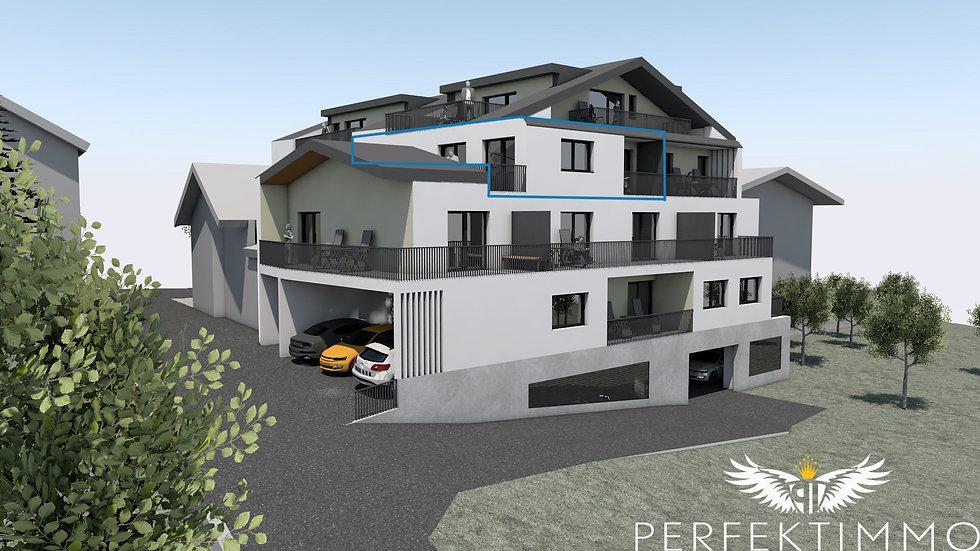 Tolle 2 Zimmer Neubauwohnung in der Wohnanlage Zschirgantblick (Top 17)