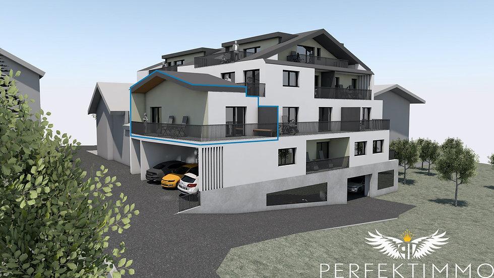 Perfekte Anlagewohnung mit 2 Zimmern in Neubauprojekt Zschirgantblick (Top 10)