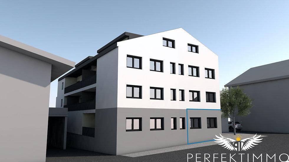 Tolle Wohnbaugeförderte 2 Zimmer Neubauwohnung (Top 4)
