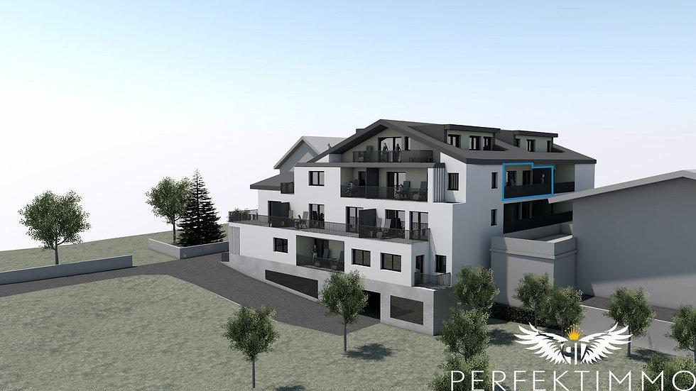 Tolle 2 Zimmer Neubauwohnung in der Wohnanlage Zschirgantblick (Top 15)