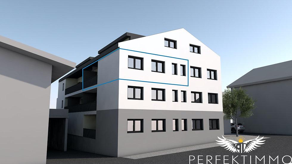 Tolle 4 Zimmer Neubauwohnung in der Wohnanlage Zschirgantblick (Top 12)