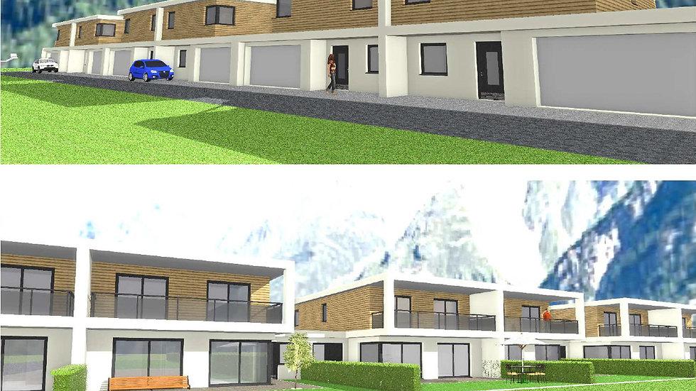 Tolles Doppelhaus mit großzügiger Wohnfläche in Planung (Haus 1)