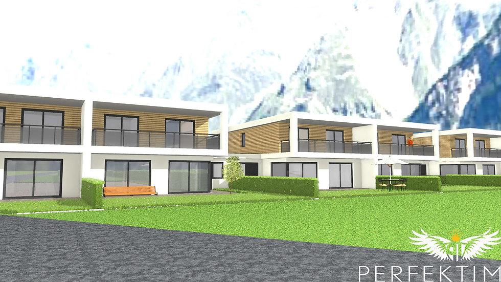 Tolles Doppelhaus mit großzügiger Wohnfläche in Planung (Haus 5)