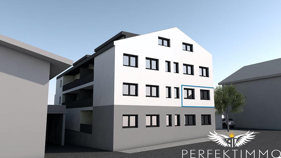 Tolle Wohnbaugeförderte 2 Zimmer Neubauwohnung