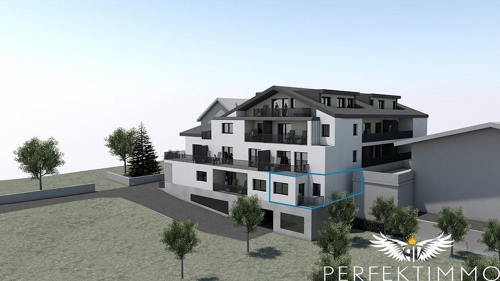 Tolle 1 Zimmer Neubauwohnung in der Wohnanlage Zschirgantblick (Top 3)