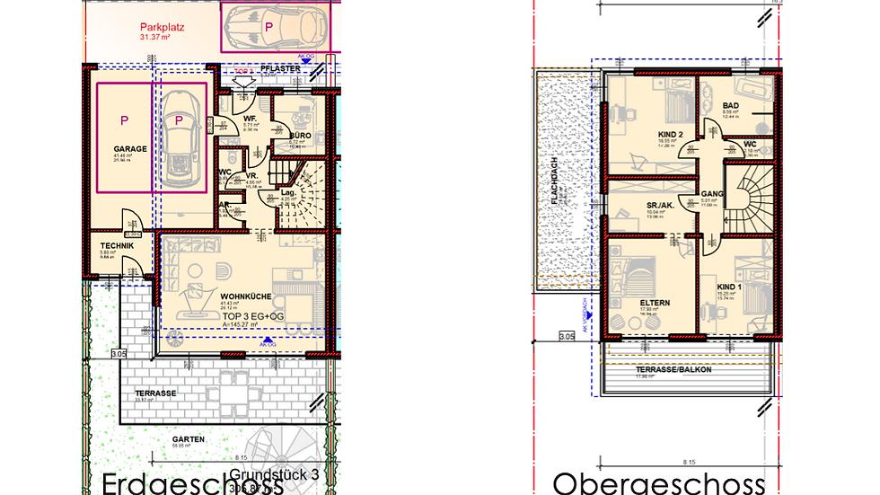 Tolles Doppelhaus mit großzügiger Wohnfläche in Planung (Haus 3)
