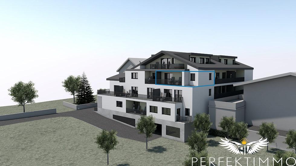 Tolle 2 Zimmer Neubauwohnung in der Wohnanlage Zschirgantblick (Top 16)