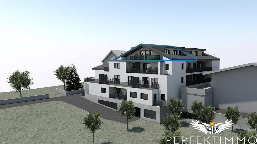 Tolle 4 Zimmer Neubauwohnung in der Wohnanlage Zschirgantblick (Top 13)