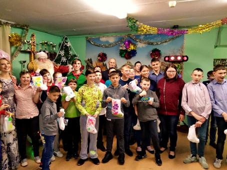 Сысертский детский дом празднует Новый год!