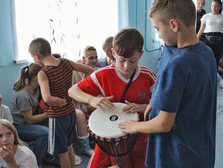 Музыкальные инструменты для воспитанников ГКУ «СРЦН города Березовского»