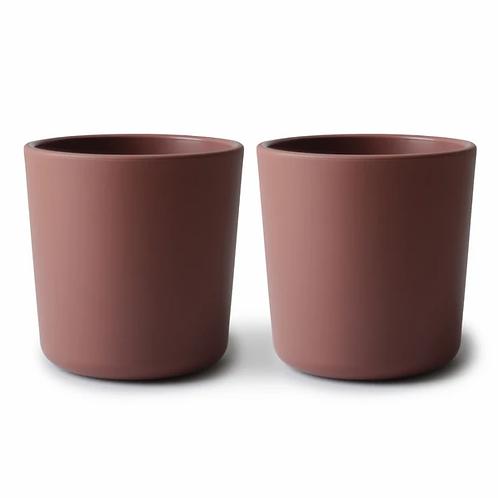 Mushie Cups - Set of 2 - Woodchuck