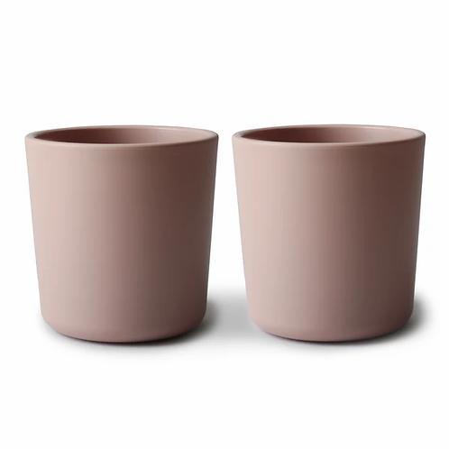 Mushie Cups - Set of 2 - Blush