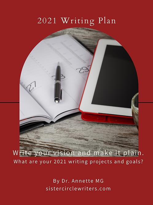 SCW 2021 Writing Plan Workbook
