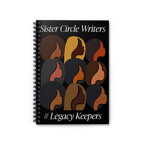 Legacy Keepers Spiral Notebook - Ruled Line