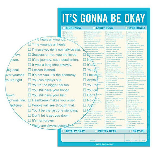 It's Gonna Be Okay Note Pad