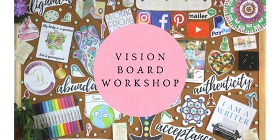 Writer's 2020 Vision Board Workshop Saturday February 1