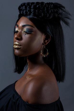 Egypt Makeup golden