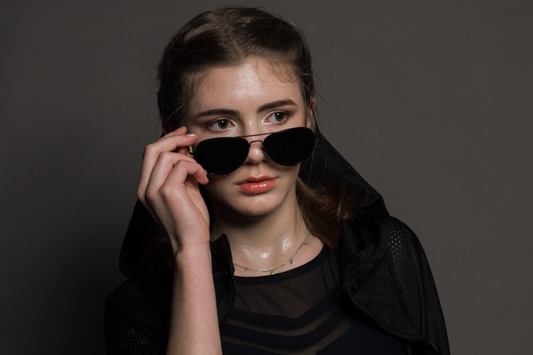 Sportswear Model Wetlook