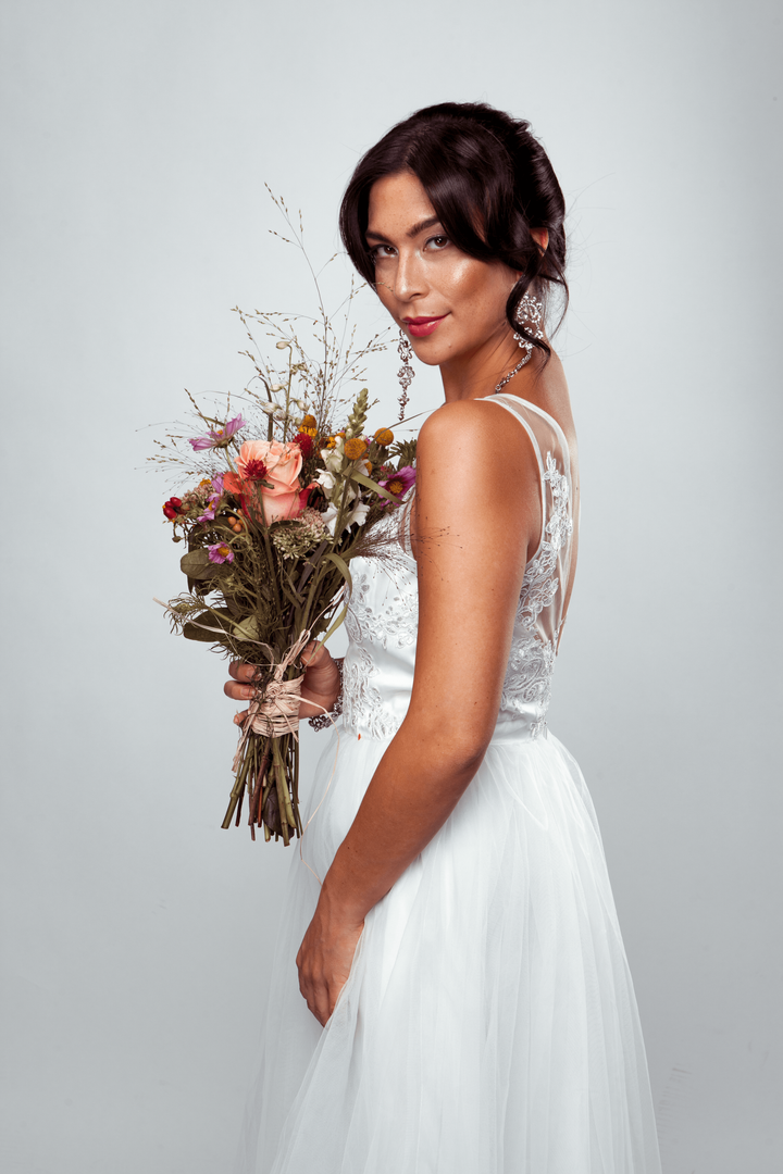 Brautmakeup und Brautstyling