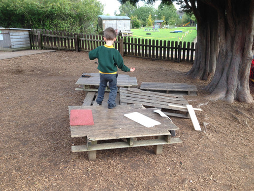 pallets for playtime