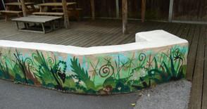 mural seat