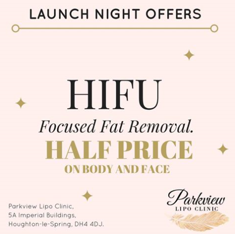 👉Only 3 days to go until the official opening of our brand new clinic... and you can take advantage of one of our exclusive offers to celebrate, like this amazing HIFU offer...