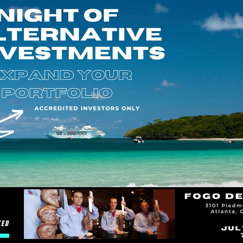 A Night of Alternative Investments
