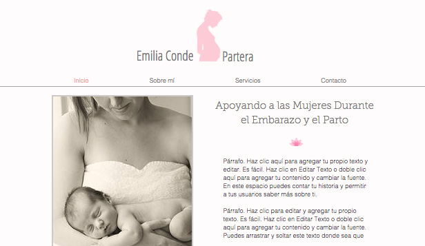 Ver todas las plantillas website templates – Partera