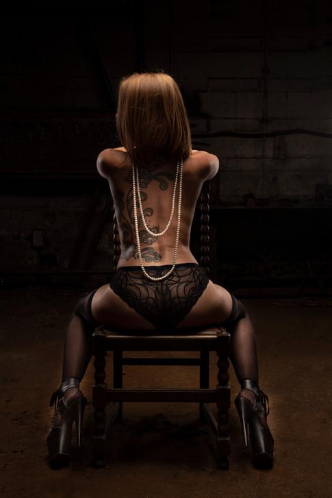 You shall keep your head bowed.