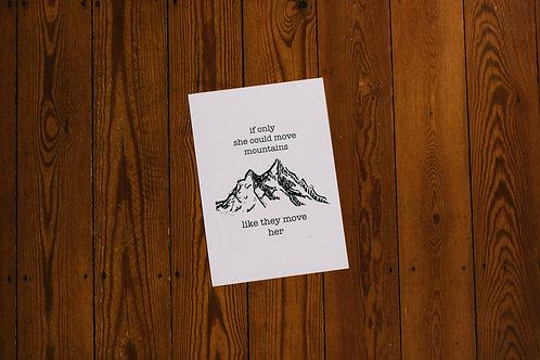 move mountains A4