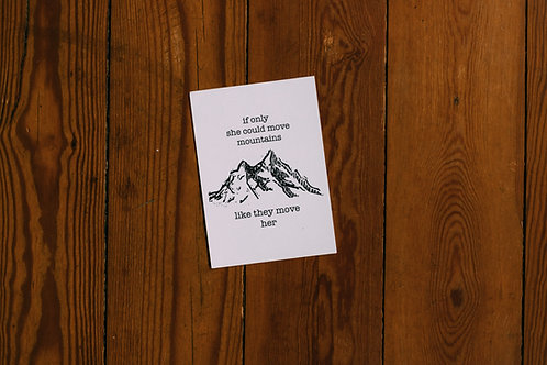 move mountains A6