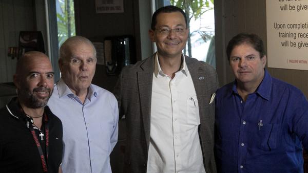 Conferencia de Prensa visita del TEC de Monterrey, Linces UVM y UDLAP