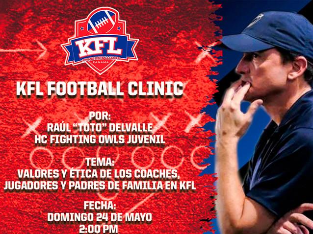 KFL Football Clinic 8 - Raúl Delvalle