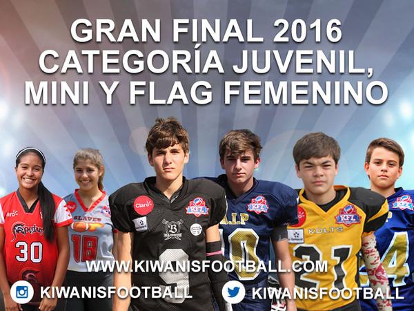 Análisis de la Gran Final de las categorías Mini, Juvenil y Flag Femenino.