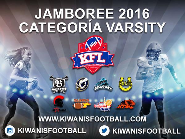 Jamboree Categoría Varsity 2016.