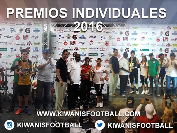 Premios Individuales Mini y Juvenil 2016