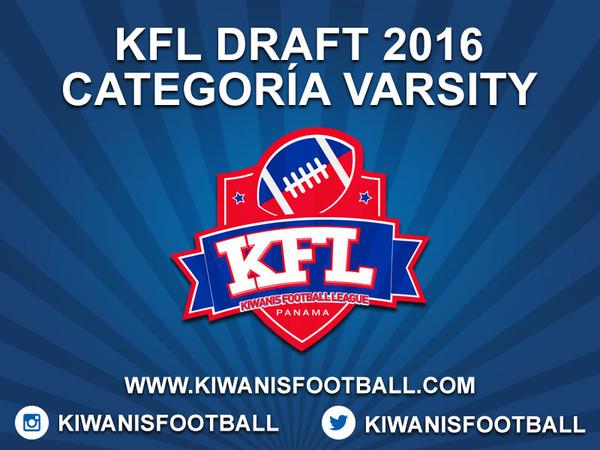 KFL Draft 2016 categoría Varsity