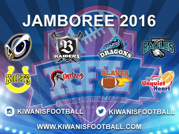 Jamboree 2016. Categorías Mini y Juvenil.