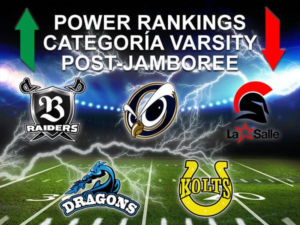Power Ranking Varsity Post-Jamboree