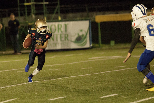 Dragons vs Owls por la Mini Contact de la KFL
