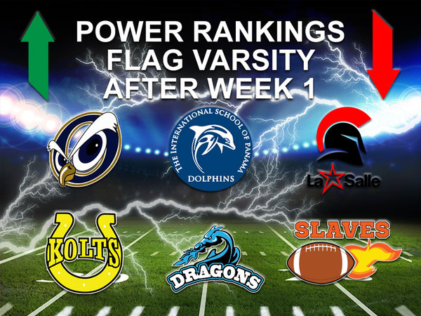 Power Ranking Flag Varsity Week 1