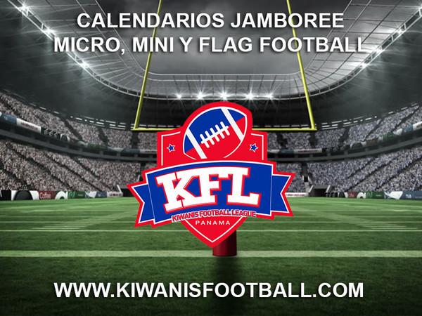 Calendarios Jamboree Micro, Mini y Flag