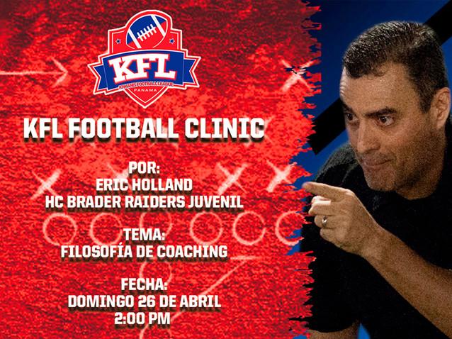 KFL Football Clinic 4 - Eric Holland