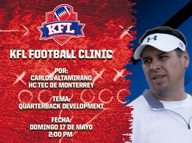 KFL Football Clinic 7 - Carlos Altamirano