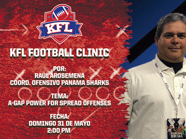 KFL Football Clinic 9 - Raúl Arosemena