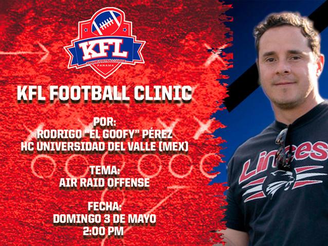 KFL Football Clinic 5 - Rodrigo Pérez