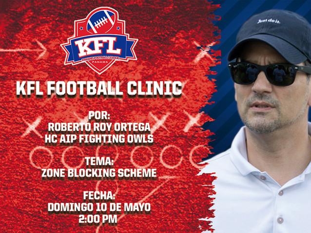 KFL Football Clinic 6 - Roberto Roy